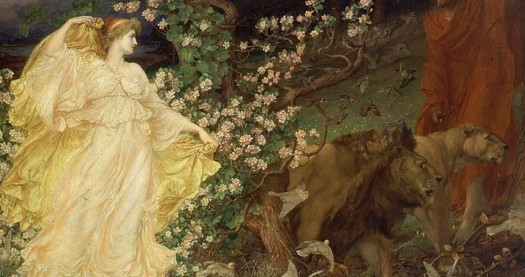 Venus and Anchises by William Blake Richmond [Public domain], via Wikimedia Commons