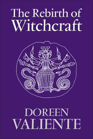 Cover of Rebirth of Witchcraft by Doreen Valient