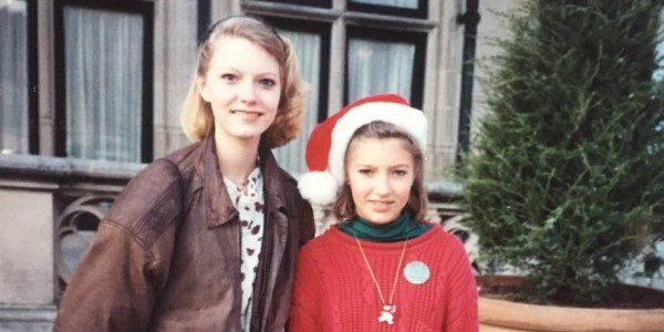 Mom took this picture--she was constantly making us pose for pictures. We are probably 16 and 13 years old, and this is how we looked at her. Impatient, irritated, disrespectful... Now, I am so grateful she documented our lives so thoroughly, and ashamed of how many pictures we have where we were scowling at her.