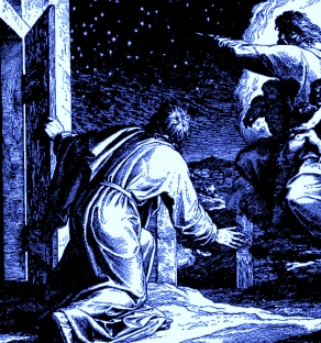 Schnorr von Carolsfeld - 1860 - Abram counts stars - Wikipedia - Public Domain