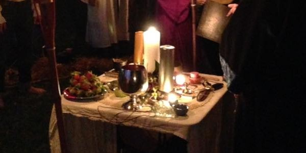 Ostara Altar 2016, The Sojo Circle Coven