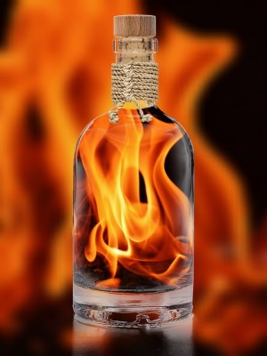 Litha Solar Potion for fortune, success and prosperity - Witch on fire
