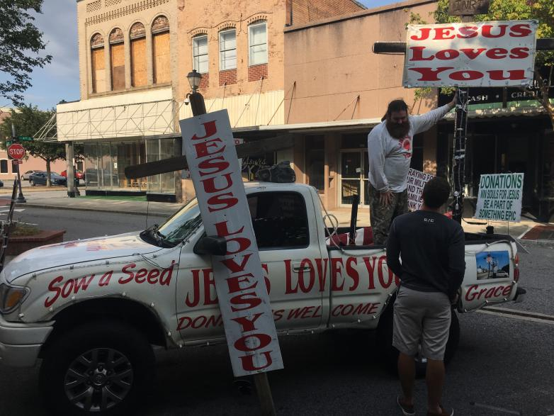 The Jesus Love You Man's Truck