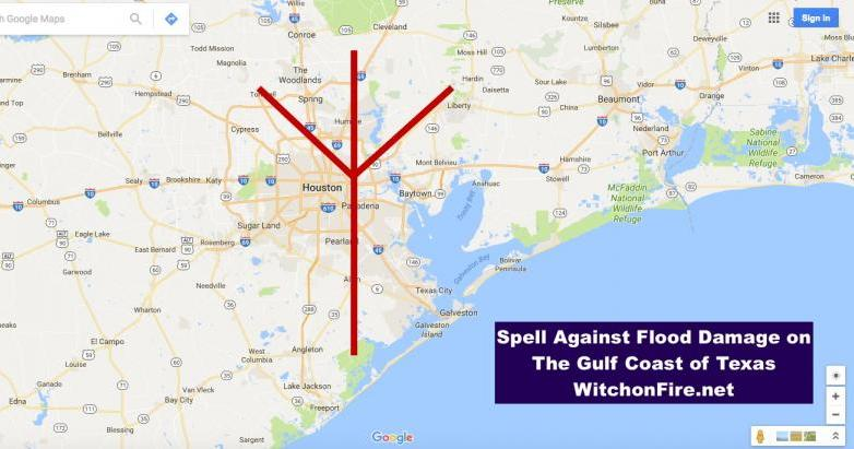 Spell Against Flood Damage in Texas