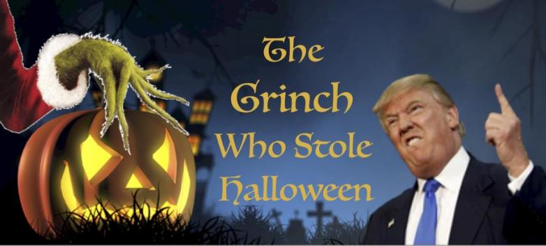 The Grinch Who Stole Halloween - Witch on Fire