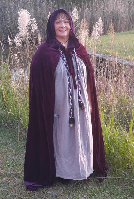 Lynn Caverly, Elder Witch and Priestess of The Sojo Circle Coven, Photo Used with Permission
