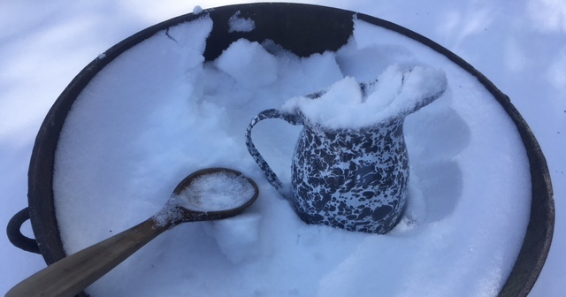 The Magick of Snow Water - Witch on Fire