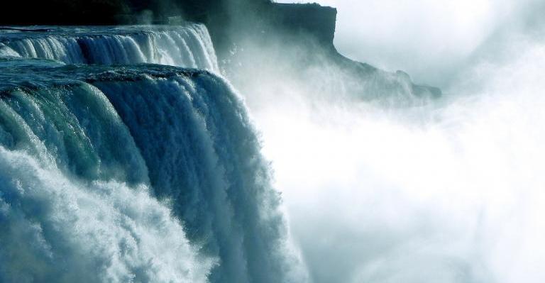 Raging Niagara Waterfall