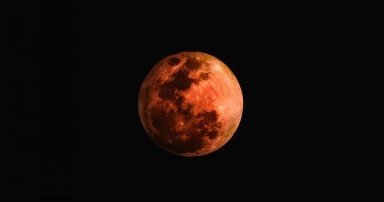 The Witchy Physics of a Blood Moon in Lunar Eclipse | Heron Michelle