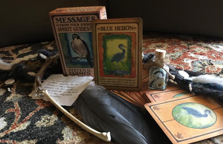 Great Blue Heron Spirit Animal Medicine