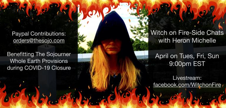 Witch on Fire-side Chats with Heron Michelle