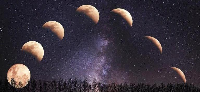 Winter Lunar Spells for Full and waning moon