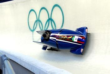 John Napier,Olympic Bobsled, via Wikimedia Commons