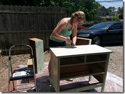 Sophia Refinishing Dresser