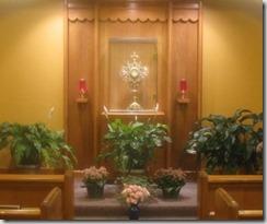 St. Jude Eucharistic Adoration Chapel: Where I typically go for Adoration.