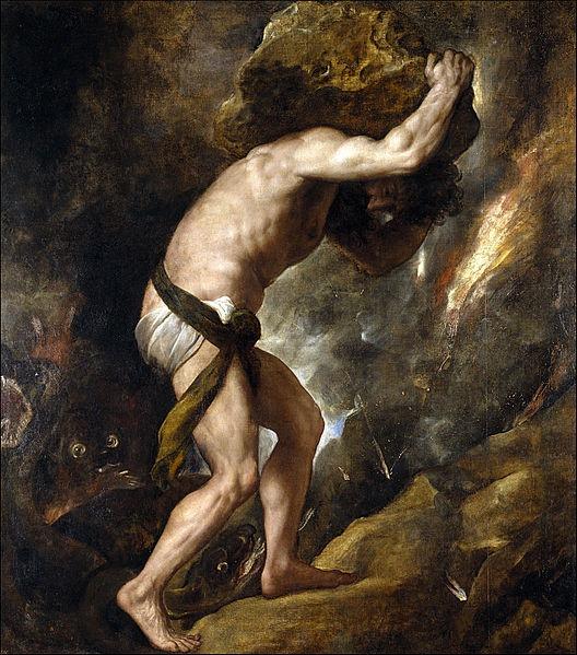 The Punishment of Sysiphus