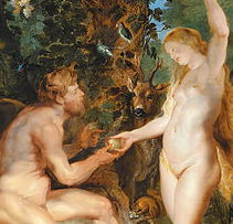 Detail of The Fall of Man