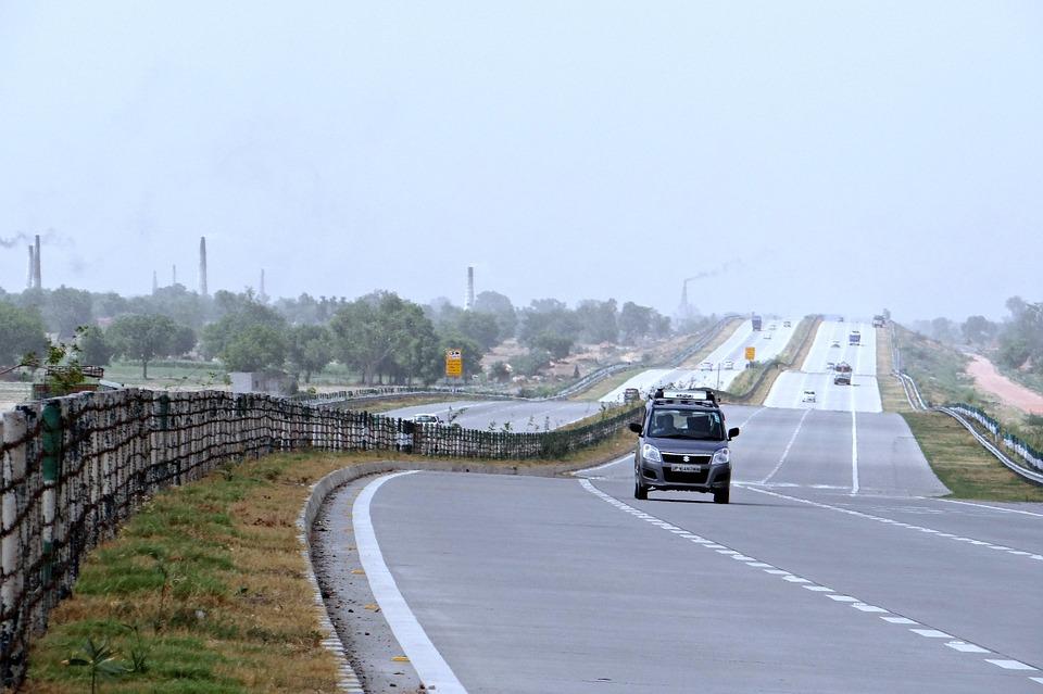 Yamuna Expressway Delhi Agra Taj Expressway India Pixabay