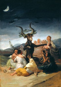Witches Sabbath, Goya 1798