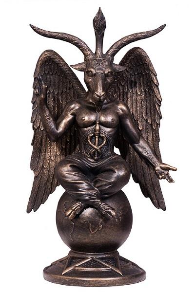 Baphomet Statue. Pixabay Free License Images.