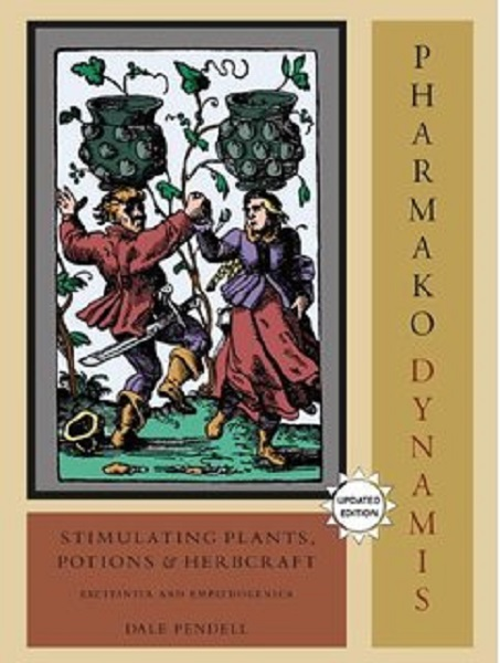 Pharmako Dynamis, by Dale Pendell. Cover art Charta Lusoria, 1588. http://dalependell.com/books/pharmakodynamis/