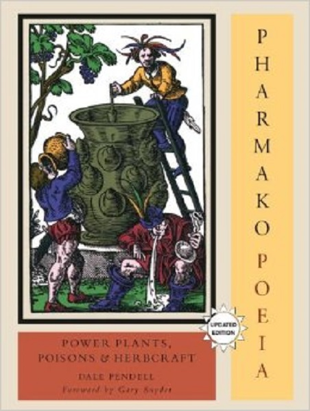 Pharmako Poeia, by Dale Pendell.  Cover illustration from Charta Lusoria, by Jost Amman 1558. http://dalependell.com/books/pharmakopoeia/