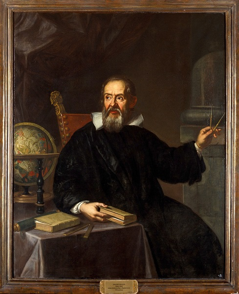 Galileo Galilei (1564-1642). Oil painting by an Italian painter. (Wikimedia Commons) Credit: Wellcome Library, London. Wellcome Images images@wellcome.ac.uk http://wellcomeimages.org Galileo Galilei (1564-1642). Oil painting by an Italian painter, 18th (?) century. Published: - Copyrighted work available under Creative Commons Attribution only licence CC BY 4.0 http://creativecommons.org/licenses/by/4.0/