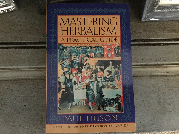 My Copy of Mastering Herbalism, Photo by Coby Michael.