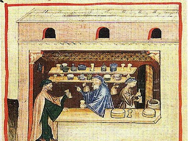 Preparation of Theriac Tacuinum sanitatis. Public domain.