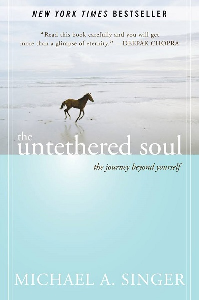 The Untethered Soul. Written by Michael Singer.