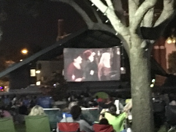 Hocus Pocus, Sunscreen Film Festival Downtown St. Petersburg.  Photo courtesy of the author.