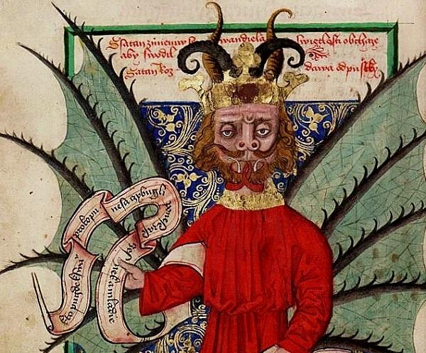 Kodex Satan Prodava Odputsky. Wikipedia Creative Commons.