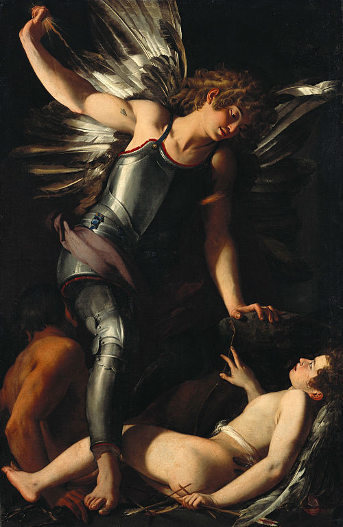Giovanni Baglione: The Divine Eros Defeats the Earthly Eros. Wikimedia Commons