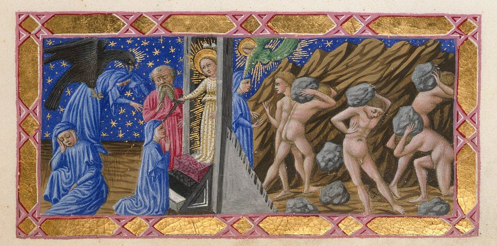"Scene from Dante's ""Divine Comedy"". Source: publicdomainreview.org"