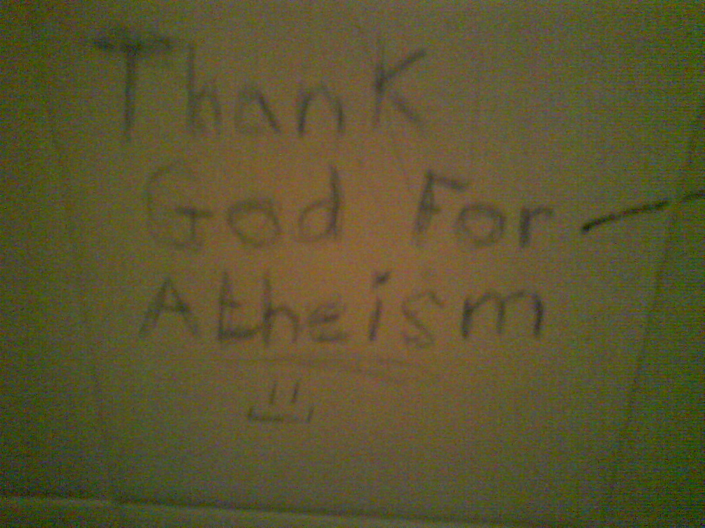 Thank God for Atheism