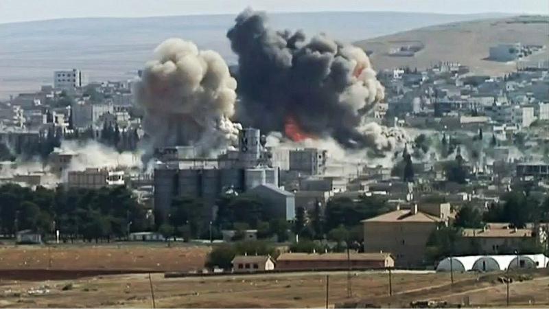 Explosion in Kobane, 8th October 2014. Photo credit: quapan via Foter.com / CC BY