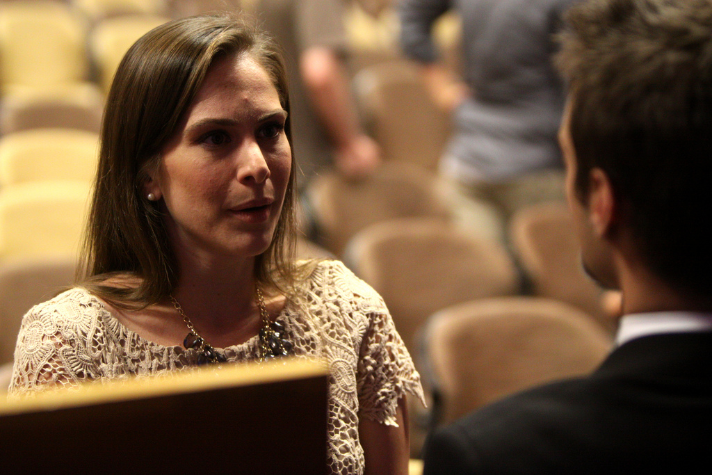 Ana Kasparian is one of the faces of The Young Turks, the largest progressive news source int he world.  Photo credit: Gage Skidmore via Foter.com / CC BY-SA