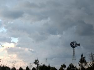 2017 windmill in the storm
