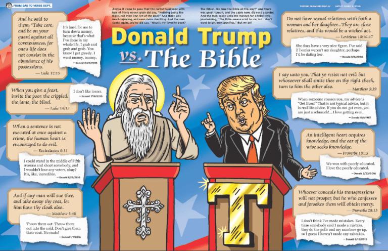 Donald Trump vs. the Bible