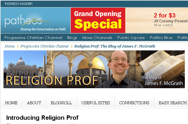 Religion Prof Grand Opening