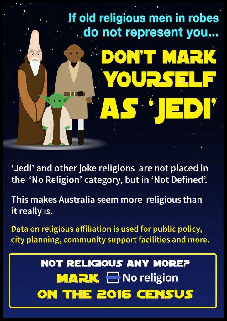 Don't mark Jedi