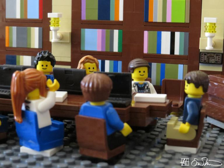 LEGO Grad Student one useful comment