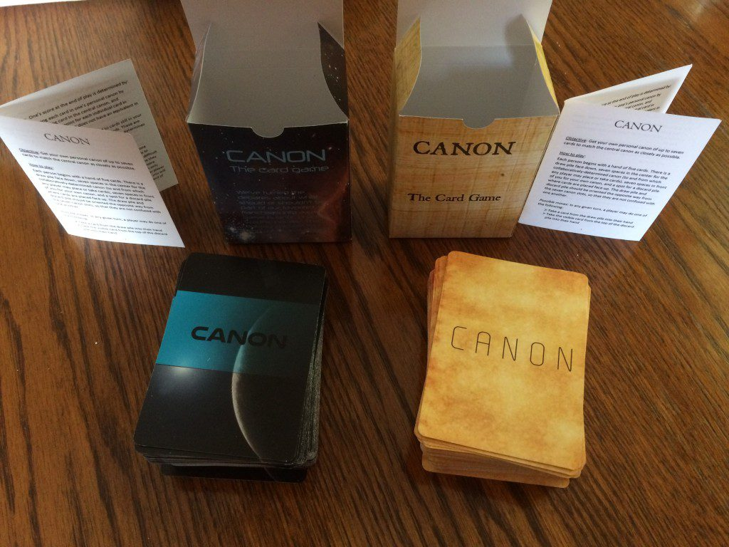 Canon The Card Game Unboxed