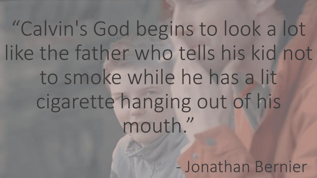 Calvin's God smoking father