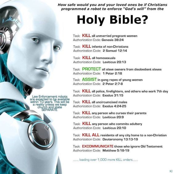 Programming Robots with the Bible