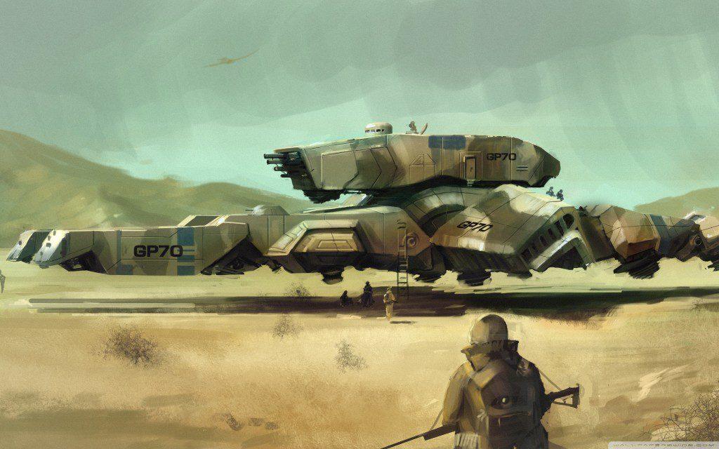 military sci fi