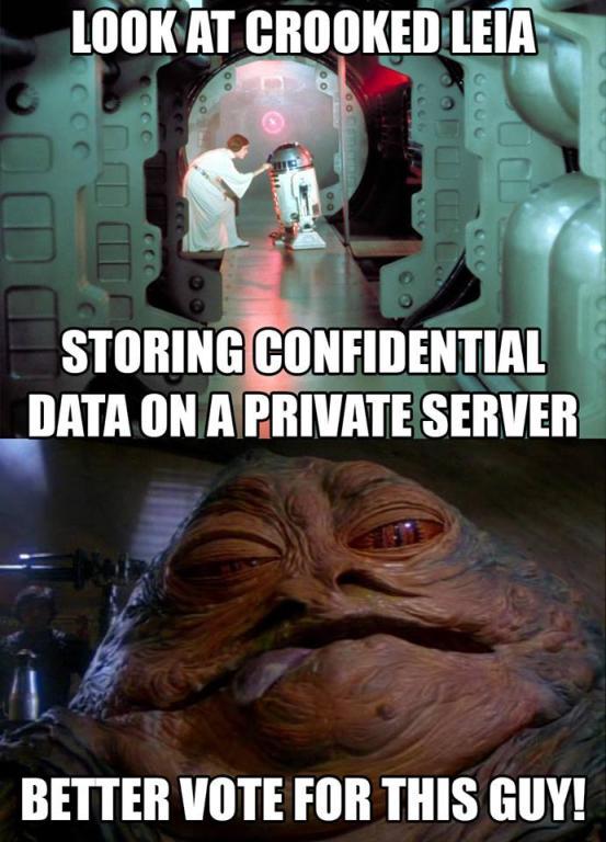 Crooked Leia