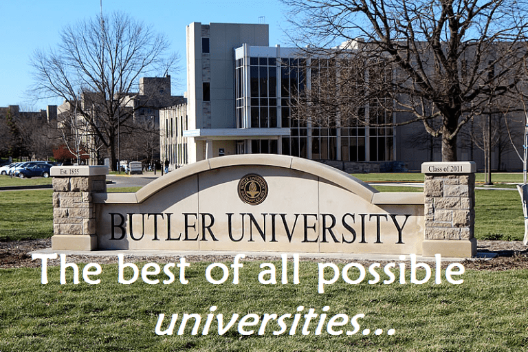 best of all possible universities