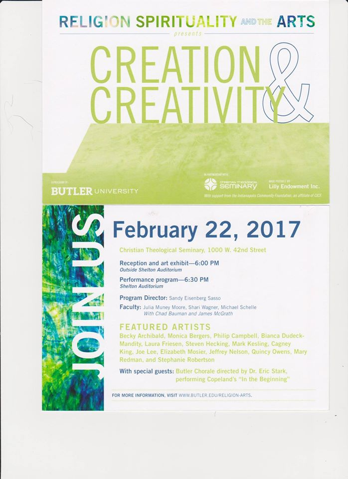 Creation and Creativity poster