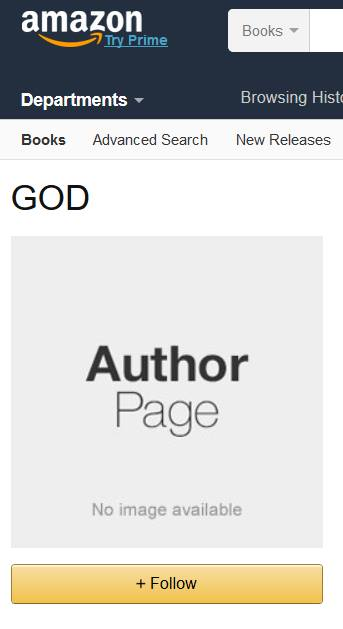 GOD Author page